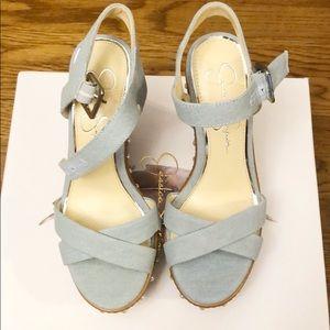 Jessica Simpson Aerali Wedge Sandals